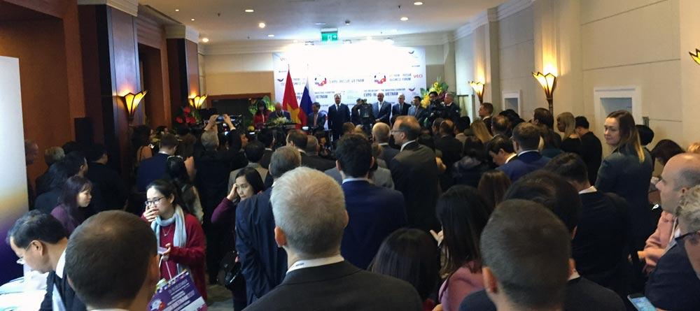 Российско-вьетнамский бизнес-форум EXPO-RUSSIA VIETNAM 2017